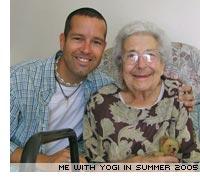 Doris Bradley, aka Yogi.