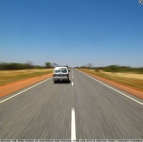 Open Road in Australia