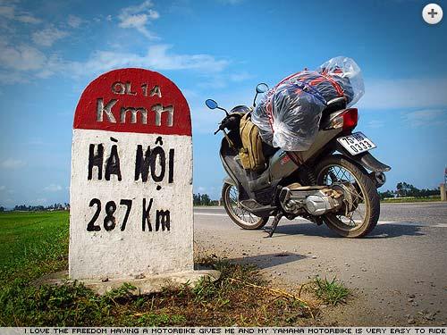Vietnam on a motorbike by Simon Jones