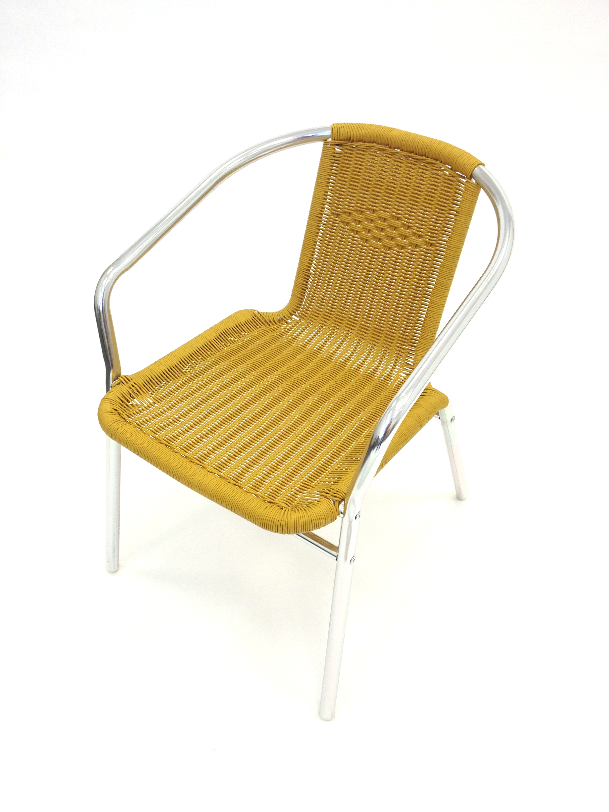 woven plastic garden chairs revolving chair base in ahmedabad sand yellow rattan with aluminium frame be