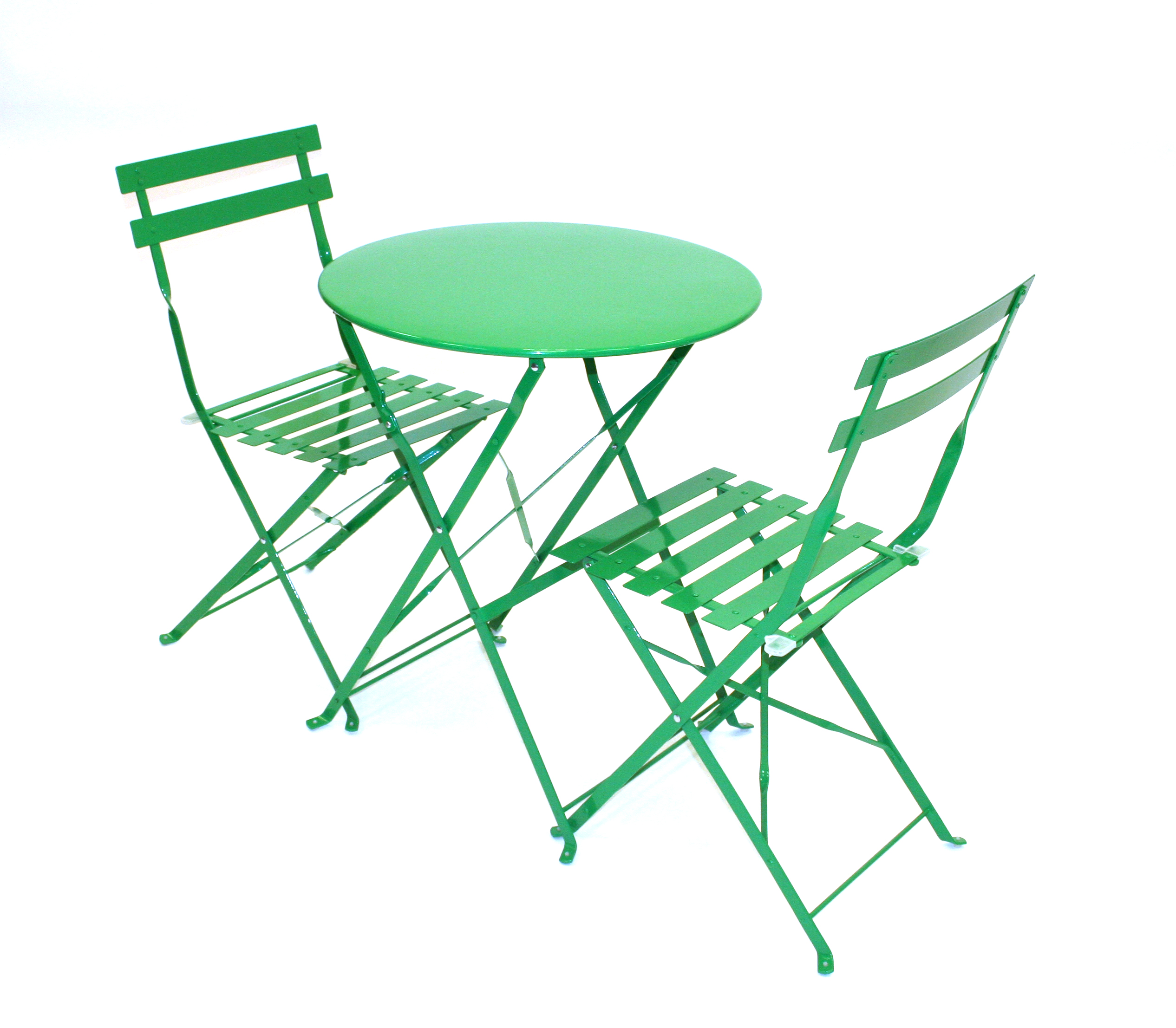 green metal bistro chairs wicker patio lounge set cafe s restaurants home be furniture sales folding balcony table and chair event hire