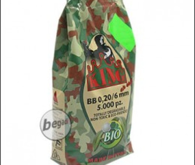5 000 Super King Airsoft Bio Bbs 6mm 020g Olive