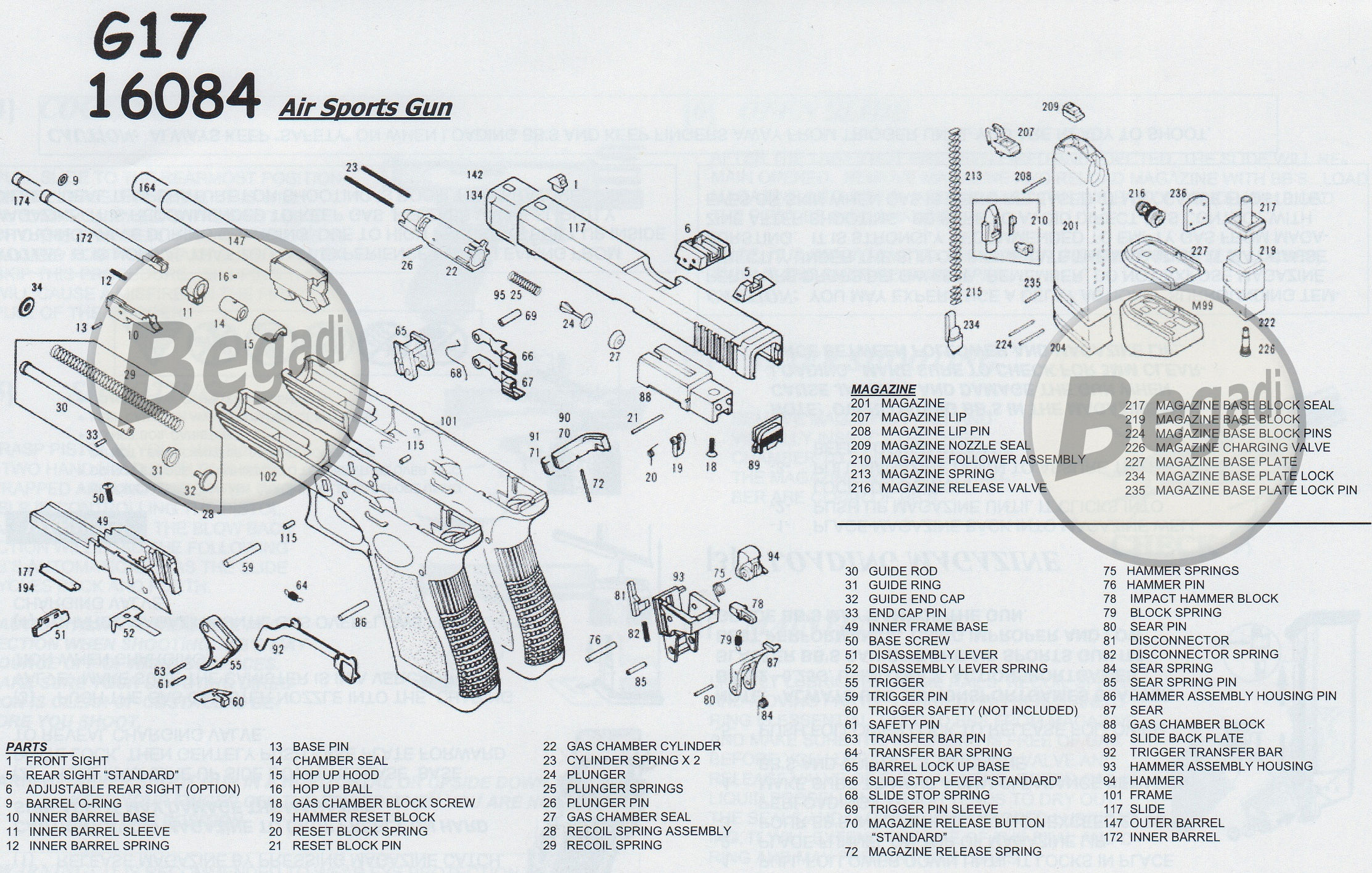Kwa G 17 Part No 226 Bsp Kwa G17 6 Einfullventil