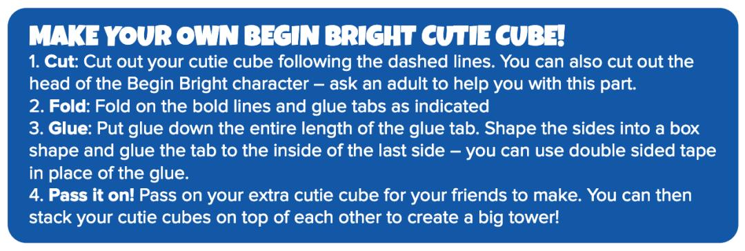 Begin Bright Cutie Cubes