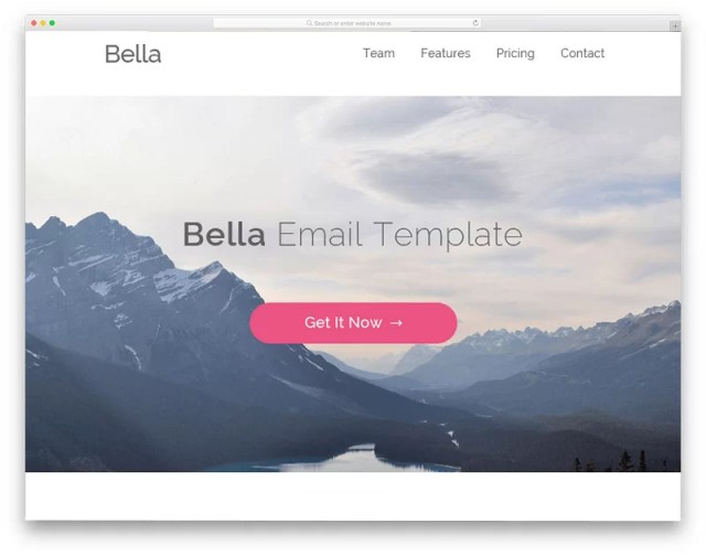 Bella Email Template
