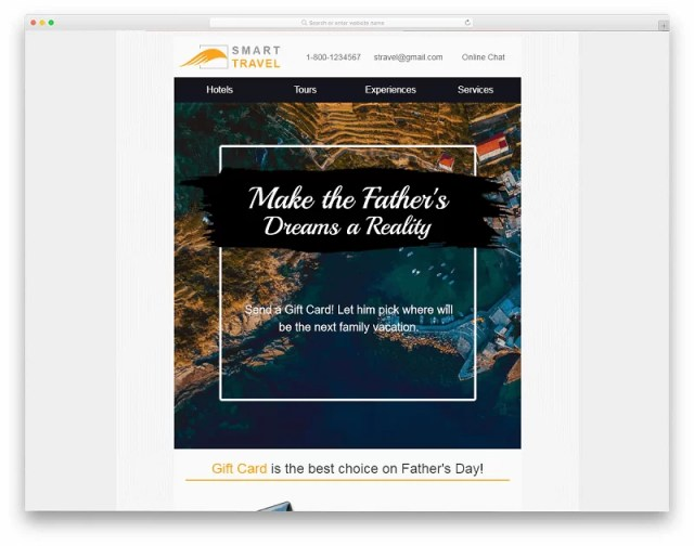 Smart Travel Email Template
