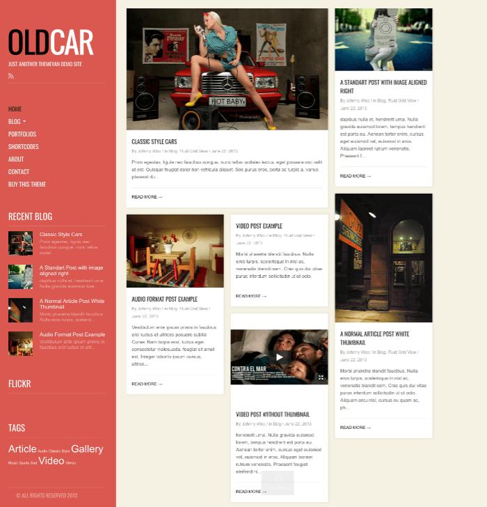 OldCar Theme