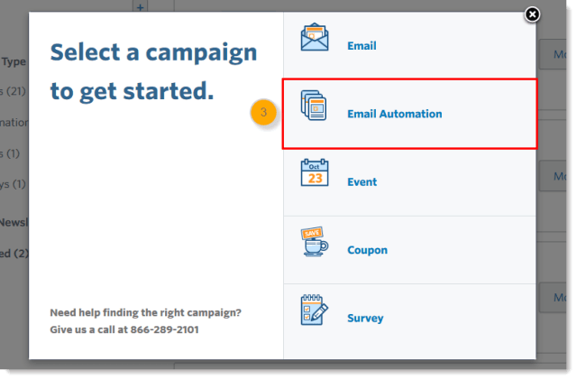 select-a-campaign-to-get-started
