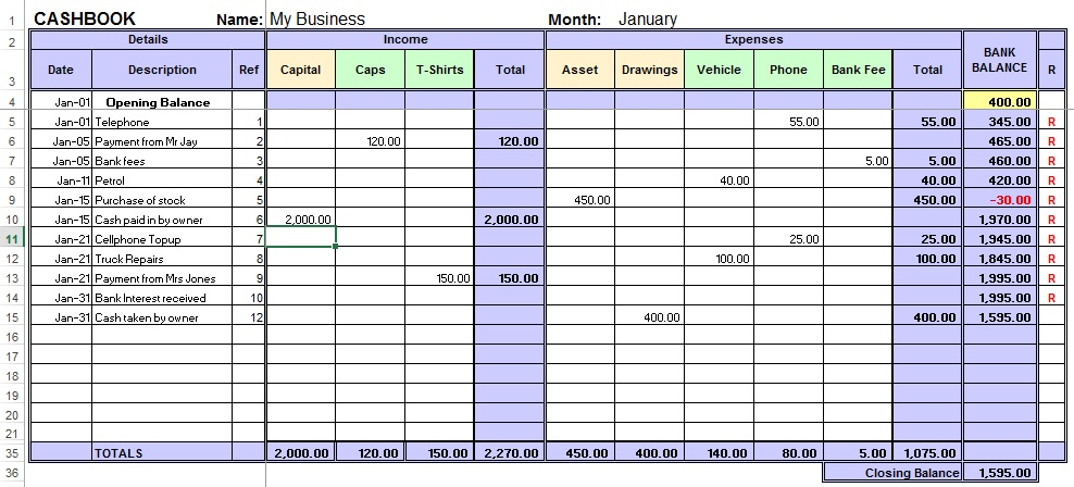 Template A Free Printable Petty Cash Log Template And