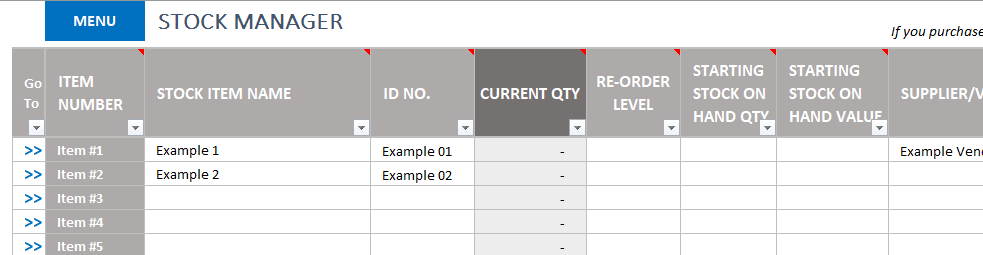 Perfect for offices, manufacturing plants, artists' studios, repair shops, and. Free Excel Inventory Template