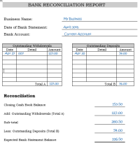 Printables. Bank Reconciliation Worksheet For Students ...