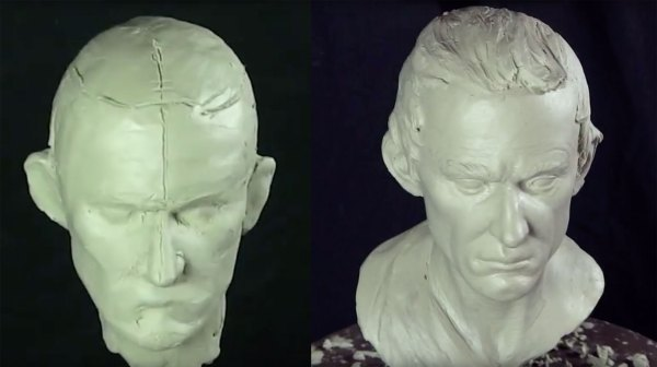 Building Armature And Sculpting Head In