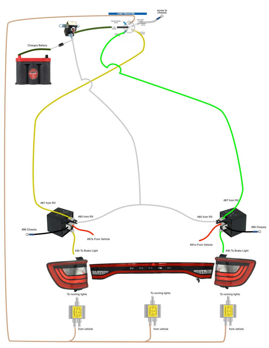 medium resolution of  own way to work around that by creating his own wiring plan and putting together his own kit it just added a couple of additional steps to the wiring