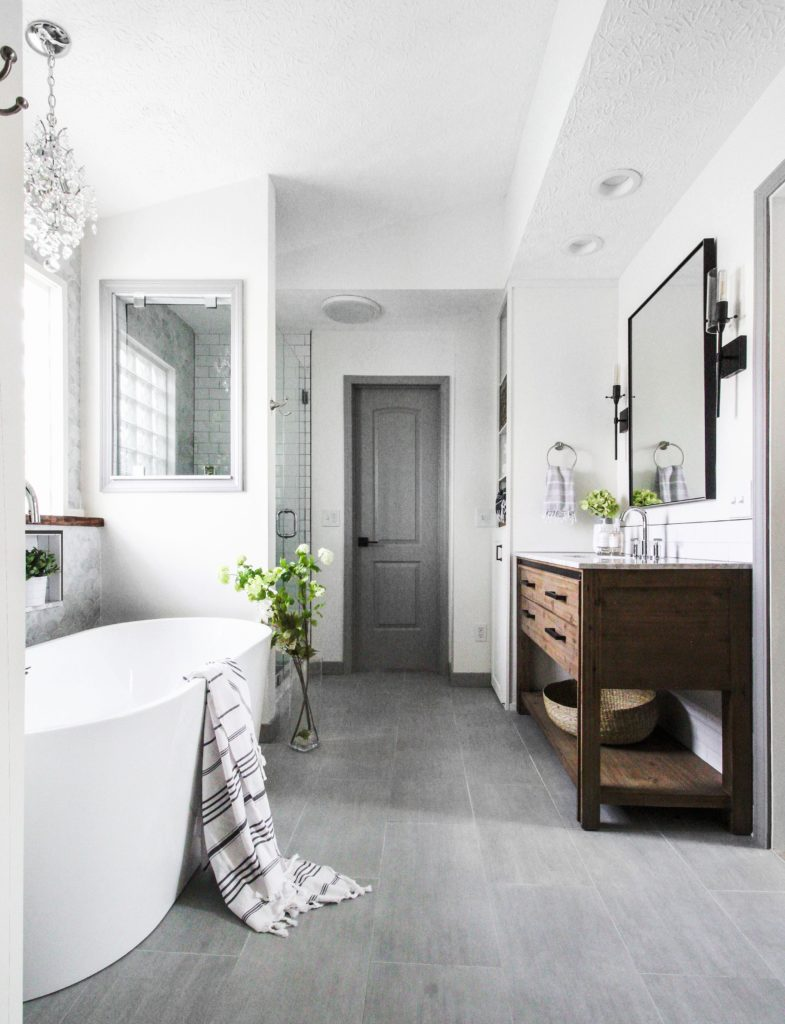 Client Project: JW Bathroom Remodel | Beginning in the Middle