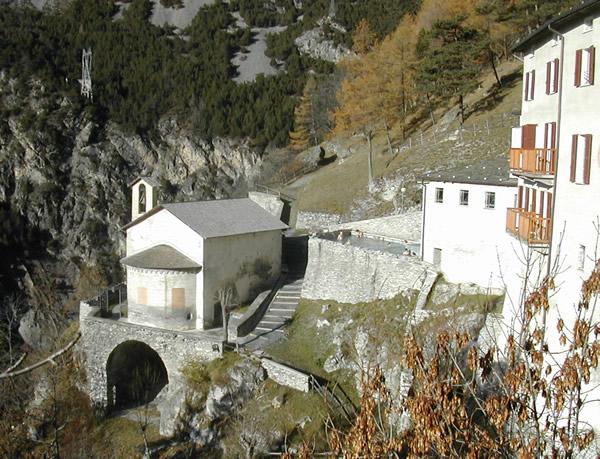 Bagni Vecchi di Bormio, external view