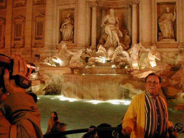 Fontana di Trevi, Oct 2003