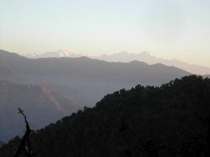Himalayan snows just after dawn