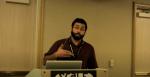 Robert Mustacchi speaking at LISA 10x