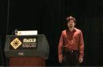 Brendan Gregg speaking at FISL 13
