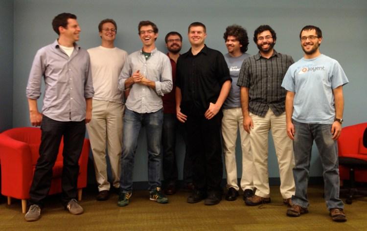members of Sun's Fishworks team