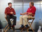 Brendan Gregg being interviewed by Rick Ramsey, OOW 2010