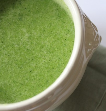 Groene groenten soep