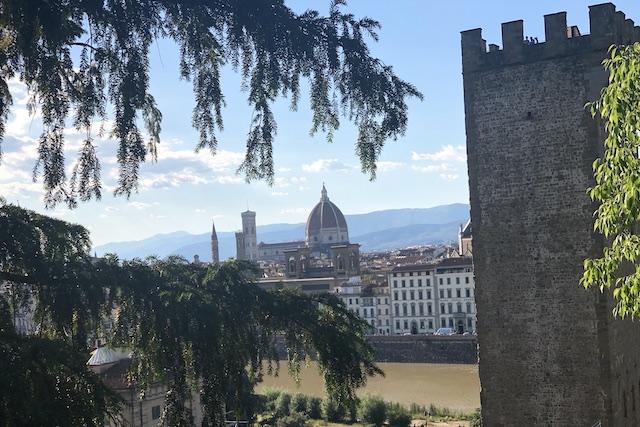 Firenze: Le Rampe in festa.