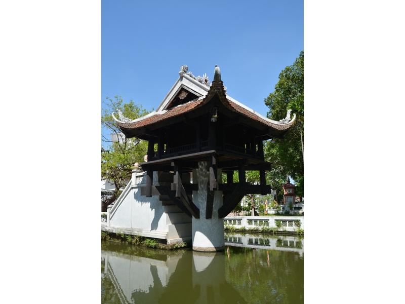 Pagoda a una sola colonna