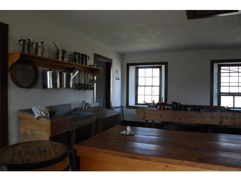 Forte Laramie-cucine