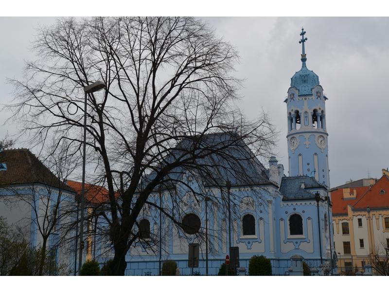 Church of St. Elizabeth - Blue Church