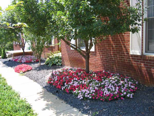 flower bed installations and design