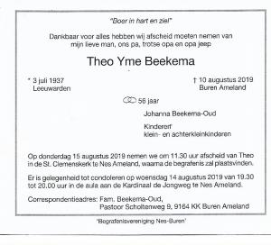Theo Beekema
