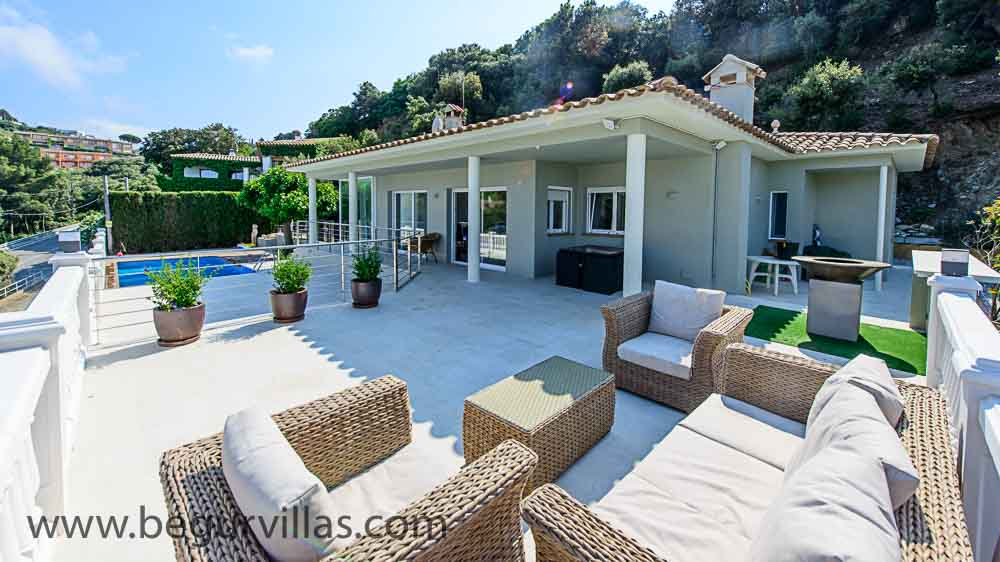 Villa Rental in Begur, Spain