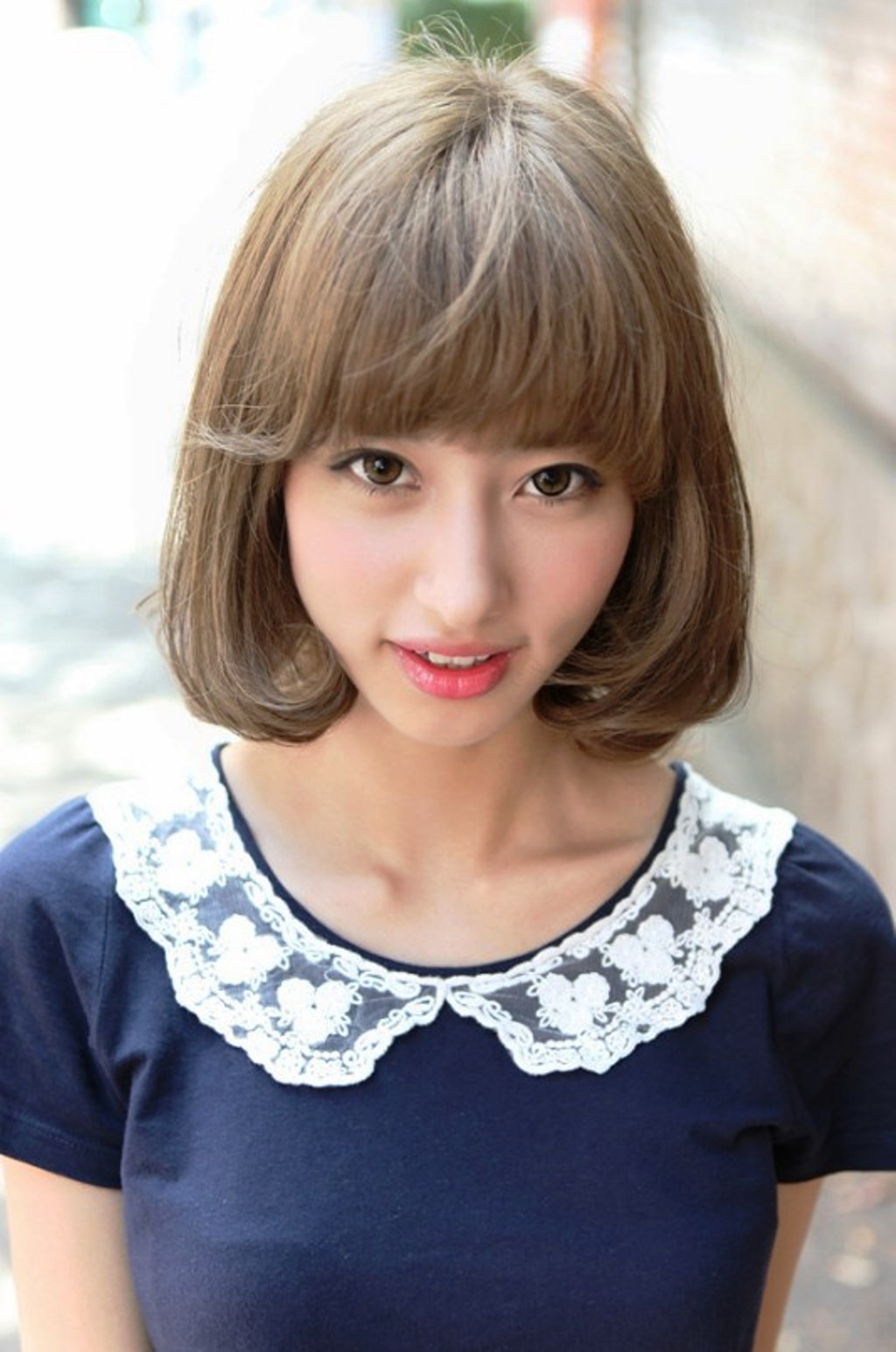 Pictures Of 2013 Cute Japanese Bob Hairstyle For Women