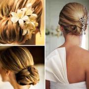 bridal hairstyles shoulder