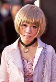 cool japanese bob hairstyle