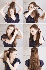 curly hairstyles step