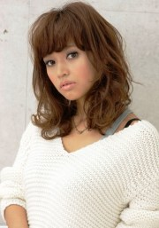 curly japanese hairstyle