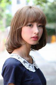 cute japanese bob hairstyle
