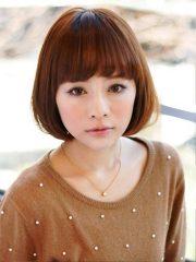 japanese bob hairstyle girls