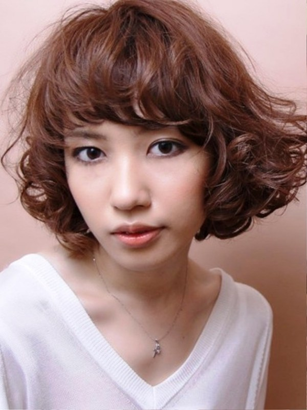 30 Asian Medium Curly Hairstyles For Women Hairstyles Ideas