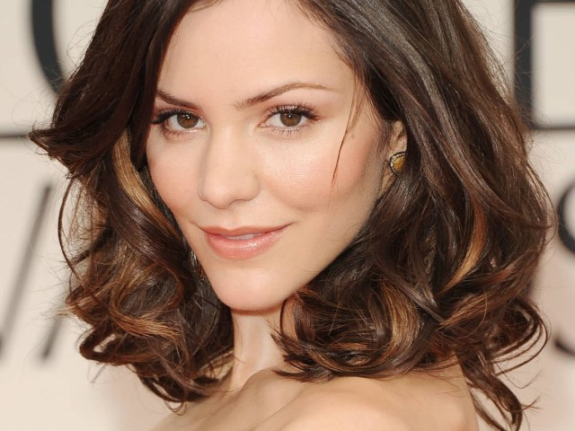 pictures of long bob hairstyles heart shaped faces