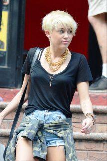 Miley Cyrus Short Hair Styles