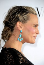 molly sims braided updo mature