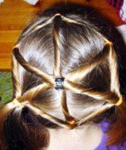 spiderweb hairstyle halloween hairstyles