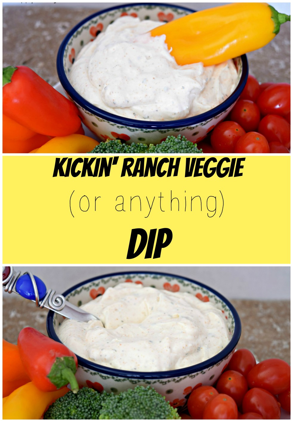 the best ranch vegetable dip