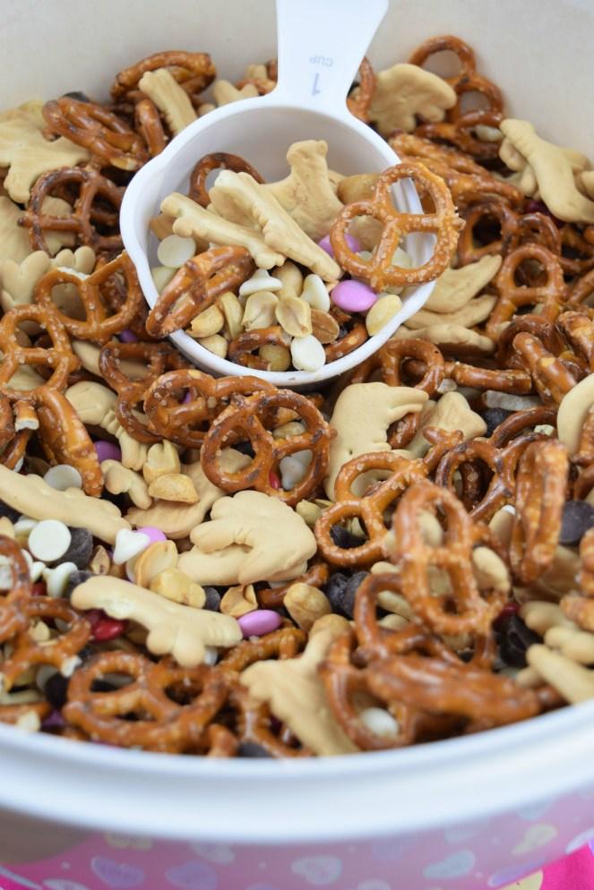 Large Batch Valentine's Snack Mix