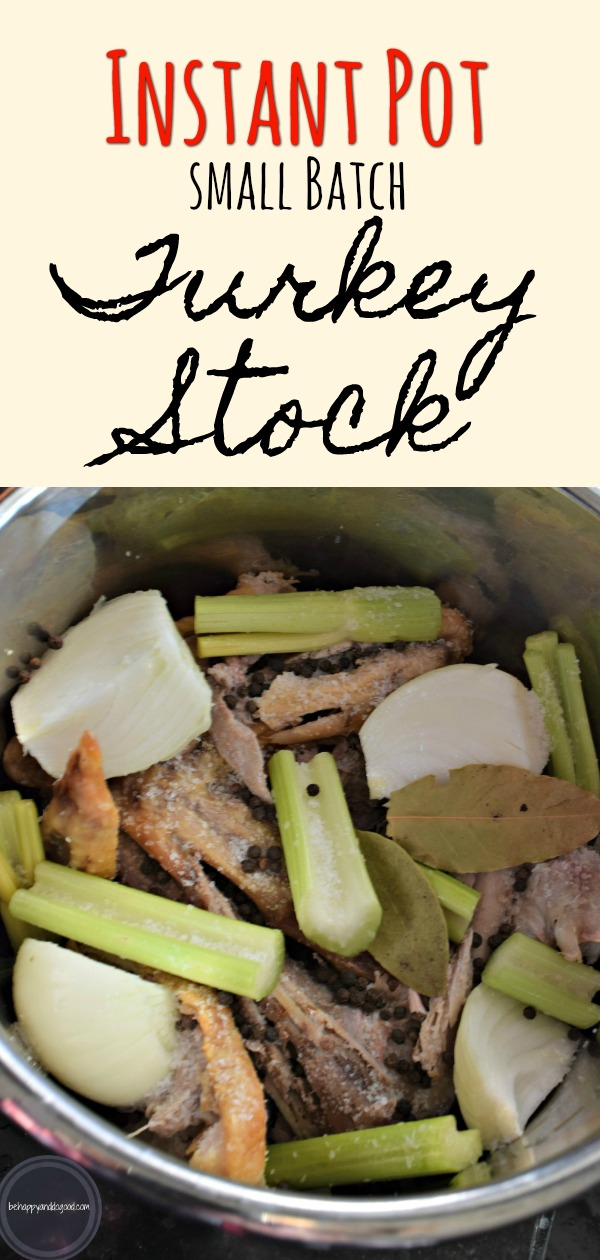 instant pot turkey stock