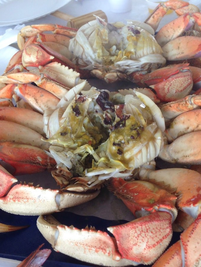 Crab eating traditions at Redondo Beach and a stroll down memory lane!