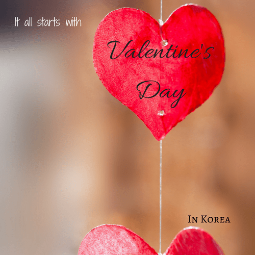 Valentine's Day, White Day, and Black Day – how Koreans do it